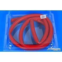 Univerzális silicone cső 20x26x212 cm Piros